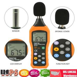 Peakmeter Pm6708 Professional Digital Decibel Sound Level Meter Tester 30 130db
