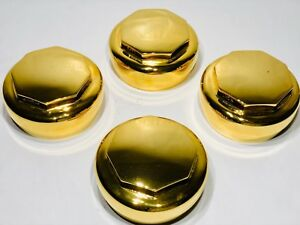 Gold Hex Spinners Knock Off For Wire Wheel Lowriders
