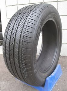 235 55 17 Michelin Energy Saver Tire 2355517 99h Excellent Tread 7 8 32 95