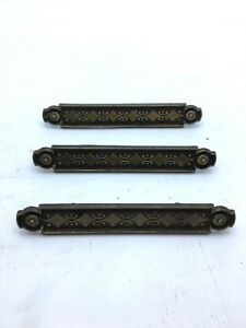 3 Pcs Lot Bar Style Dresser Drawer Handle Pull Furniture Hardware Knobs Vintage
