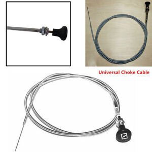 237 Rotary Universal Push Pull Control Choke Cable 63 Inner 60 Conduit Durable