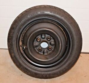 Used Goodyear Convenience Spare Tire Wheel Donut T125 70d14 Toyota Corolla