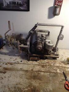 Vintage Power Bonding Drill 575 Gas Powered Rail Drill Briggs Stratton 3 Hp