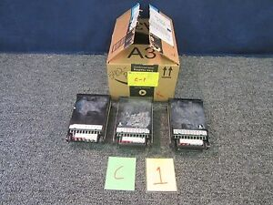 3 Newport Ac Power Line Monitor Volts Amps 3 1 2 Digit Electric Lab Digital Used