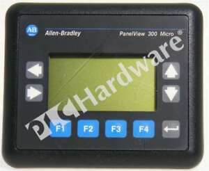 Allen Bradley 2711 m3a19l1 a Frn 4 20 Panelview 300 Micro Rs232 Qty Scratches