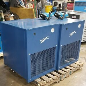 Used Great Lakes Air Refrigerated Compressed Air Dryer 100 Cfm 120 Volt