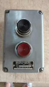 Square D On Off Start Stop Switch Box 600 Volt Class 9100 Type Ty 2 Series A