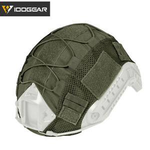 IDOGEAR Tactical Helmet Cover for FAST Helmet Camo BJPJMH Type Military Army