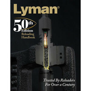 Lyman 50th Edition Reloading Book SC 9816051