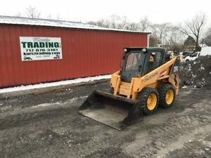 2007 Mustang 2041 Skid Steer Loader W Cab Only 600 Hours