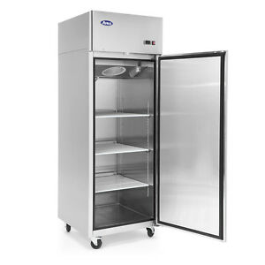 New Atosa Top Mount 1 One Door Freezer Commercial Restaurant Stainless Steel