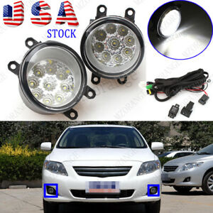 Car Windshield 80 Led Strobe Light Bar Flash Turn Signals Emergency Lamp Blue Us
