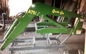 Quik on A70i Front End Loader Fits John Deere