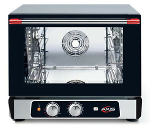 Axis Ax 513rh Convection Oven 1 2 Size Countertop Manual Controls