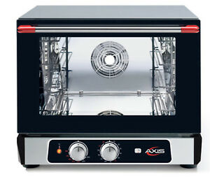 Axis Ax 514rh Convection Oven Countertop 1 2 Size Manual Controls