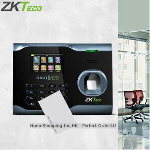 Us Zkteco Biometric Fingerprint rfid Card Attendance Time Clock wifi tcp ip usb