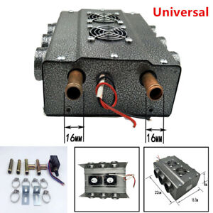 Universal Under Dash Heater 12v Heat W Speed Switch For Car Truck 6 Port Durable
