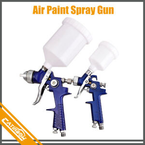 2pcs Hvlp 1 0mm 1 4mm Air Spray Nozzle Gun Kit Primer Gravity Repair Feed Paint