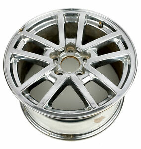 2000 02 Chevrolet Camaro Single 17 X 9 Aluminum 5 Lug 10 Spoke Wheel 09593464