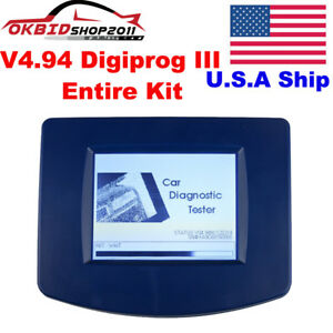 Usa Stock No Tax V4 94 Digiprog Iii Digiprog3 Obd2 Odometer Master Progarmmer