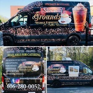 Mobile Food Truck Van Mobile Kitchen Beverage Truck Concession Coffee Truck