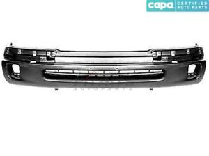 New Front Bumper Cover Textured Black For 1998 00 Toyota Tacoma To1095189c Capa