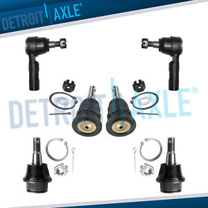 2006 2007 2008 Dodge Ram 1500 Front Upper Lower Ball Joints Outer Tierods