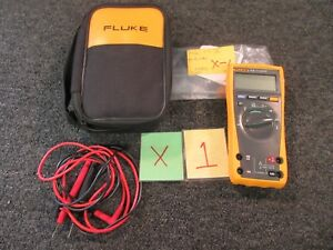 Fluke 77 Iv Multimeter Test Electric Resistance Volt Ohm Continuity Tool Used