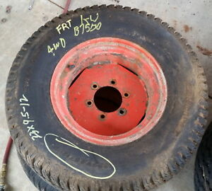 6c040 50430 23 X 9 5 X 12 Kubota Turf Tire Wheel Assy
