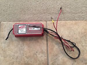 Msd 6a Ignition Box 6200 Multiple Spark Discharge Camaro Mustang Civic Type R