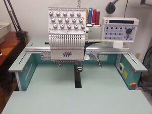Tajima Tmex C1501 Commercial Embroidery Machine