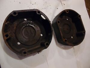 1955 Oliver Super 55 Gas Farm Tractor Brake Housings