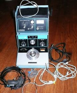 Vintage Zenith Hearing Audiometer Za 113a Tone Complete Working