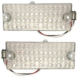 1969 1970 Chevy Pickup Truck Parking Turn Light 36 Led Assembly Clear Lens Pair