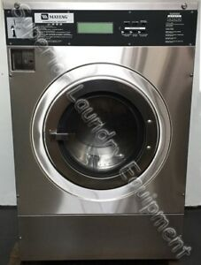 Maytag Mfr30pd Washer extractor 30lb Coin 220v 1ph Reconditioned