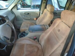 2001 Ford F150 Pickup King Ranch Crew Cab Electric Leather Seat Set