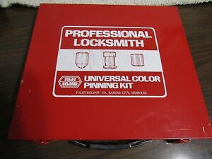 Foley belsaw Co Professional Universal Color Pin Pinning Kit