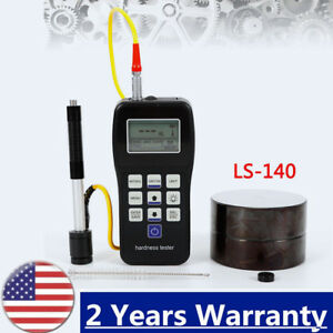 Portable Rebound Leeb Hardness Tester Durometer For Metal Steel Shipped By Ups
