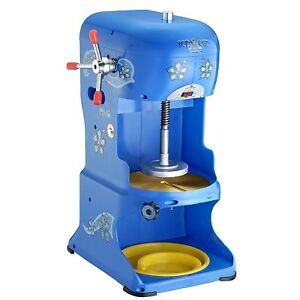 Hawaiian Shaved Ice Machine Great For Slushies Flavored Ice Shaver Snow Cone