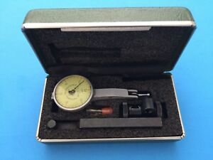 Federal Testmaster T 1 Dial Test Indicator 030 Range 001 Graduation 3 Tips