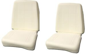 Mopar 68 69 Charger Road Runner Barracuda Dart Gtx Bucket Seat Foam pair