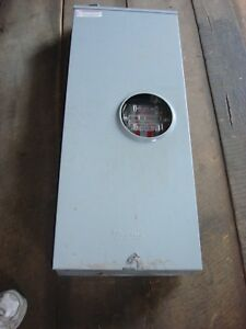 400 Amp Milbank1 Phase Meter Socket W Bypass Used Ex Condition