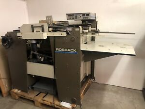 Rosback Perforator Pile Feed