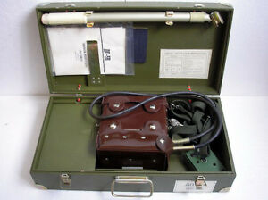Dp 5b Radiometer Geiger Counter Vintage Ussr Russian Military Detector Excellent