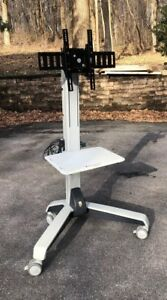 Ergotron Neo flex Mobile Media Center Cart Rolling Monitor Tv Display Stand