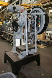 35 Ton Perkins Gap Frame Press Model 450 bm Variable Speed A c A b