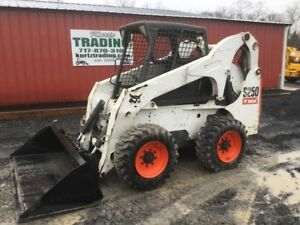 2007 Bobcat S250 Skid Steer Loader W Joysticks High Flow Only 2300hrs