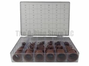 Osk Industrial Standard Fkm viton 75 O ring Kit 36 sizes 436 pieces Brown