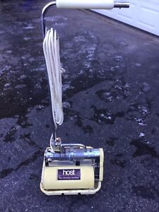 Host Model M Dry Extraction Carpet Cleaning Machine