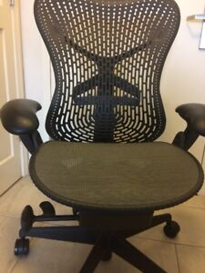 Herman Miller Fully Loaded adjustable Mirra Chairs